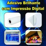 Adesivo Vinil Brilhante Impresso por Metro Quadrado