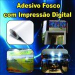 Adesivo Vinil Fosco Impresso por Metro Quadrado