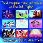 Painel Festa Infantil Lona 440g Anti-reflexo