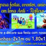 Painel Festa Infantil Anti-reflexo